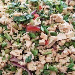 Salade de poulet thaï